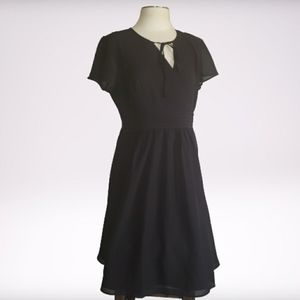 MODCLOTH Fit and Flare Little Black Dress